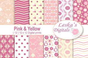 Pink and Yellow Patterns