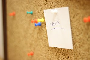 Work pin