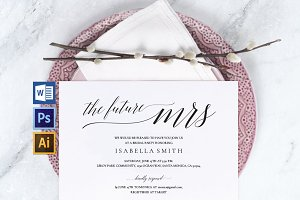 Bridal Shower Invitation Wpc 132