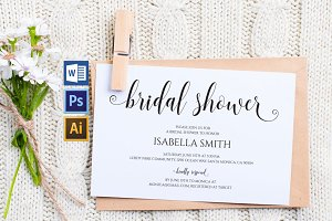 Bridal Shower Invitation Wpc 133