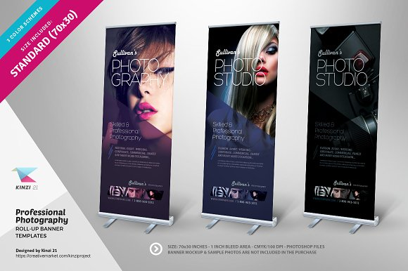 Professional Design Banners Club Banners