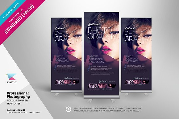 Professional Design Banners Vintage Label Banners