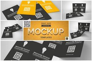 Brochure Bifold Mockup