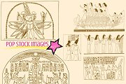 Ancient Egypt Brushes & PNG Set