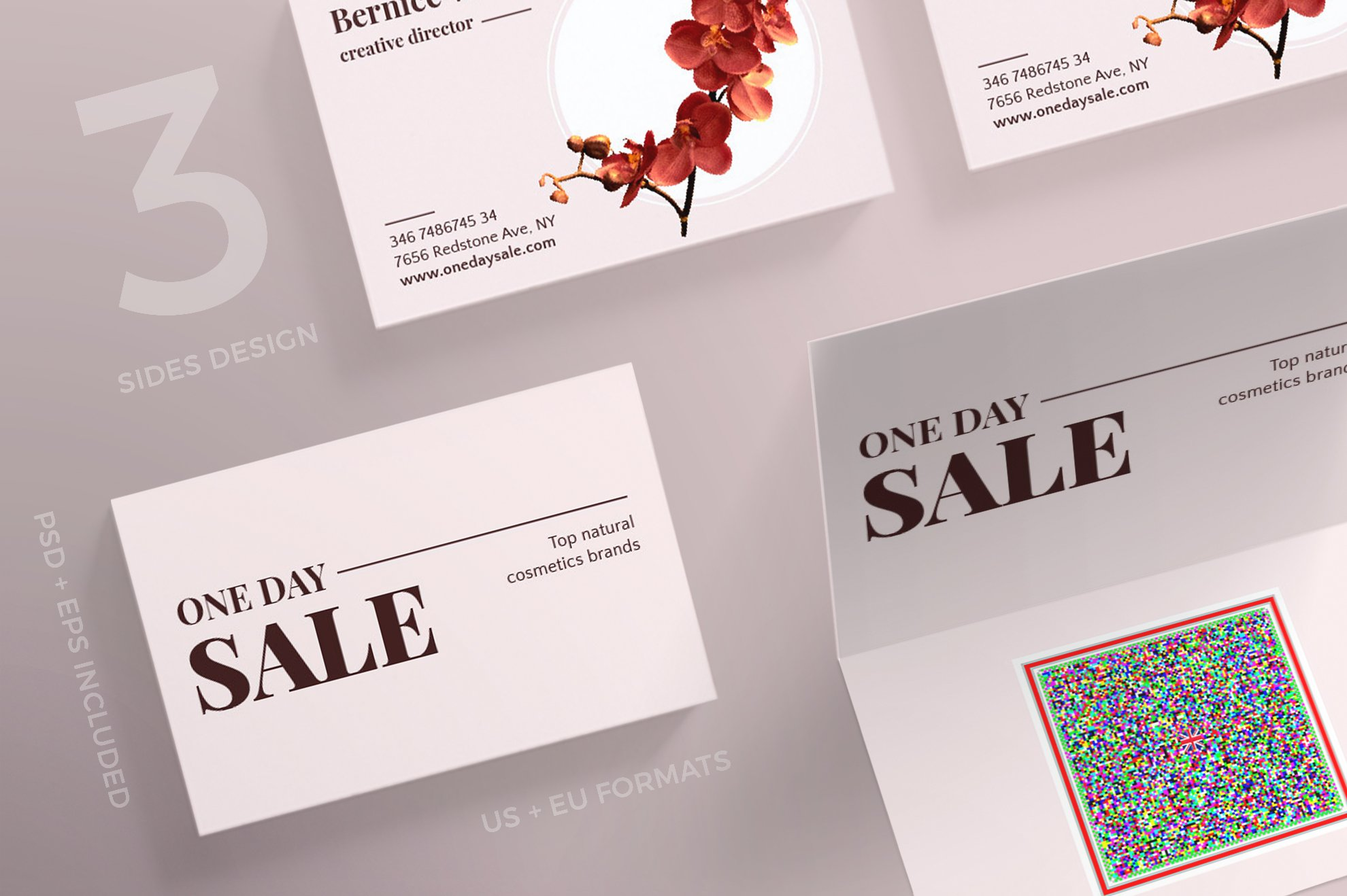 Business Cards One Day Sale Business Card Templates Creative