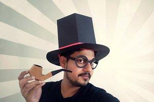 DIY Hat with Cigar  - 3d papercraft