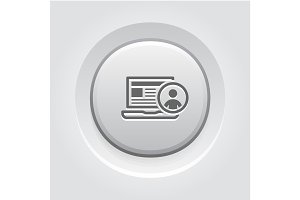 Online Support Icon. Business Concept