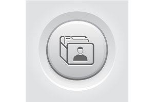 Customer Base Icon. Business Concept