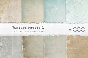 Vintage Paper Textures 1