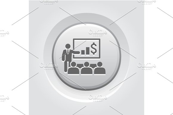 Presentation Icon Business Concept