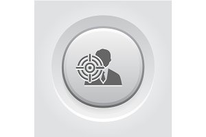 Headhunting Icon. Business Concept