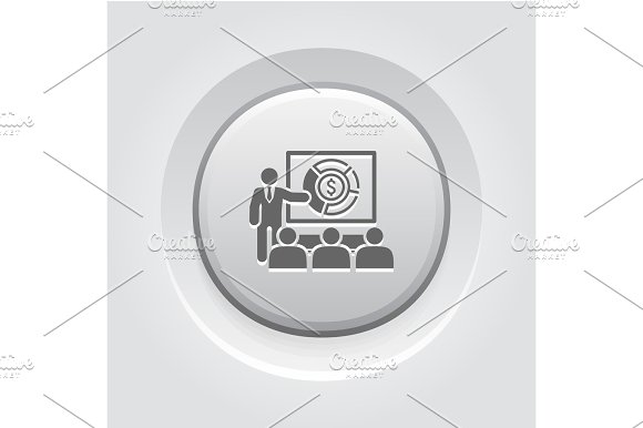 Market Analysis Icon Business Concept