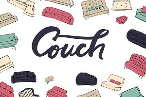 Couch big set