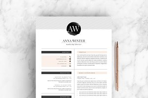 Resume Template 5pages | Stiletto