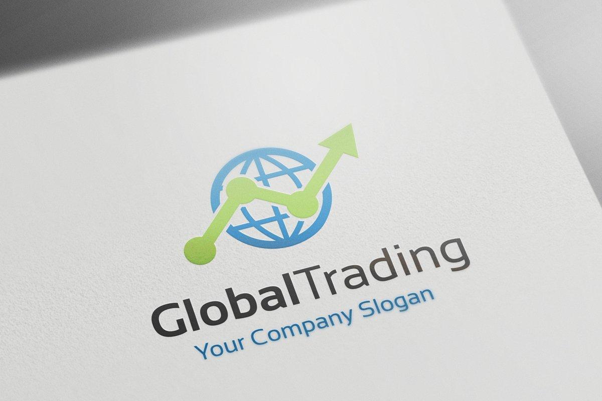 Global Trading | Creative Logo Templates ~ Creative Market