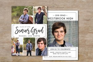 Senior Graduation Announcement