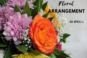 Floral Arrangement background