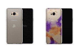 Galaxy S8-S8 Plus Phone Crystal Case