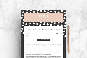 4 page Resume Template | Spot-On
