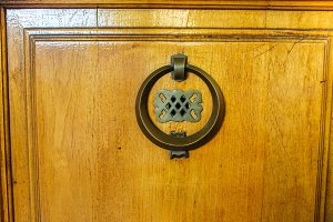 Vintage Handle Door Detail