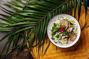 Pho Bo vietnamese Soup