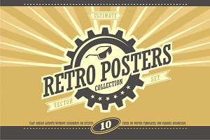 Retro Posters Collection