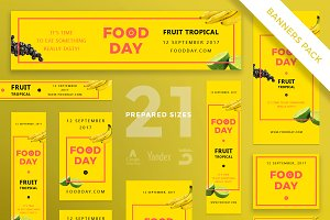 Banners Pack | Food Day