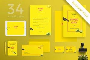 Branding Pack | Food Day