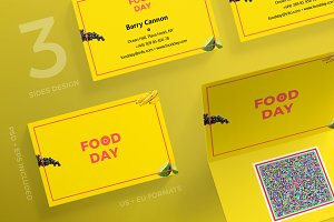 Business Cards | Food Day