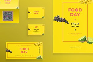 Print Pack | Food Day