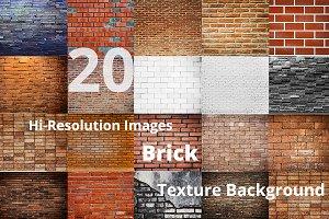 20 BRICK TEXTURE