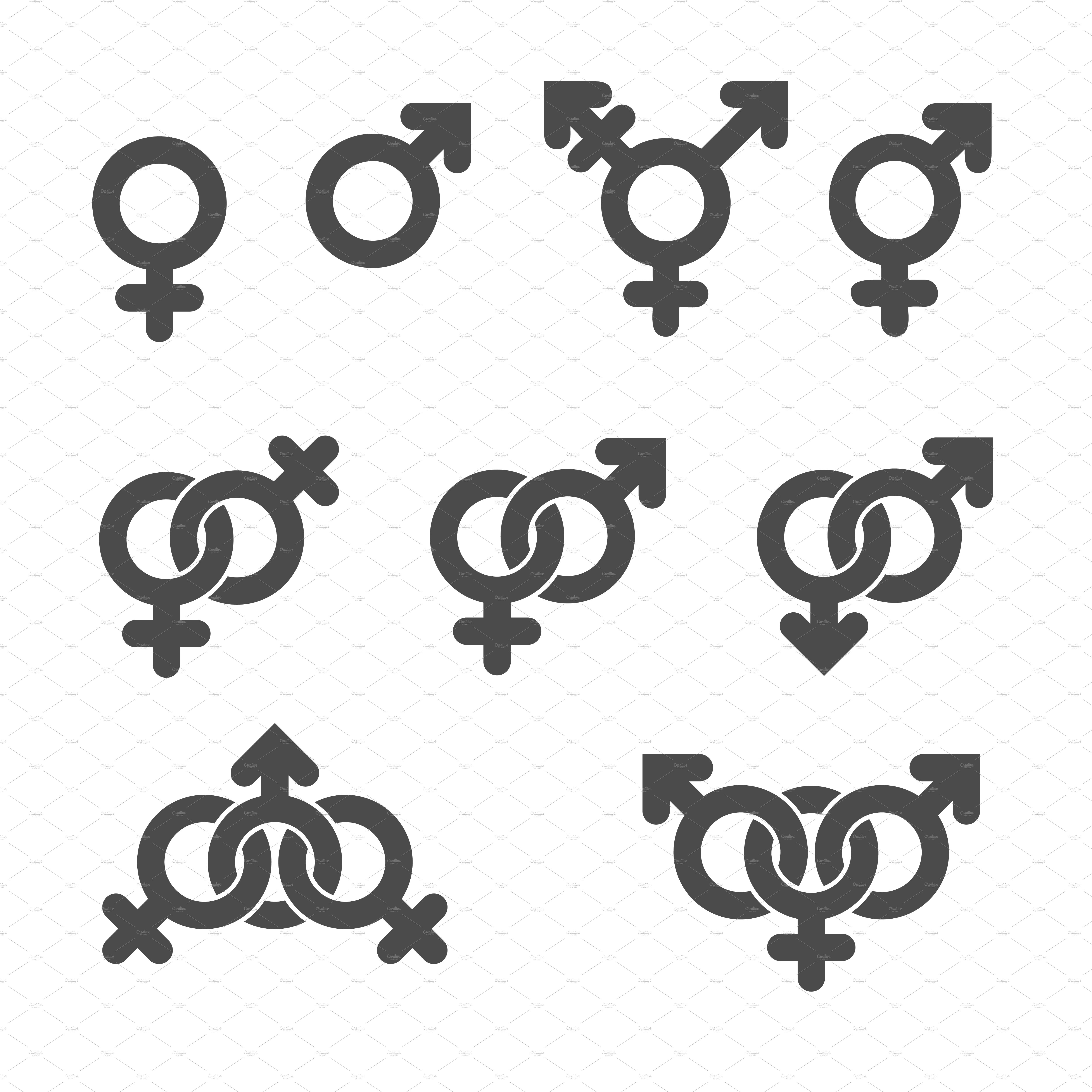 Gender Hieroglyphics | The Political Hat