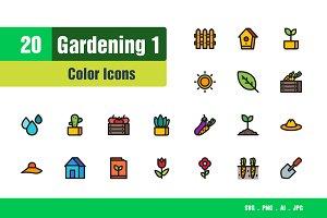 Gardening Icons #1