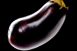Eggplant in Shadow
