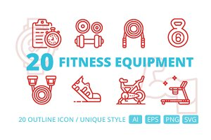 20 Fitness equipment