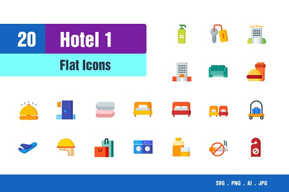 Hotel Icons #1