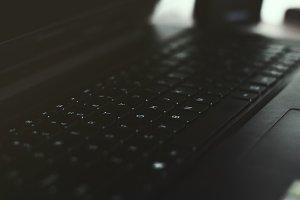 Sleek Laptop Keyboard