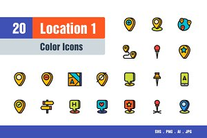 Location Icons #1