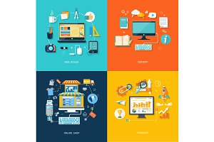 Internet shopping web design