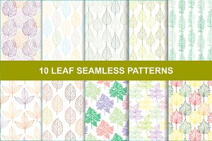 10 Leaf Floral Patterns