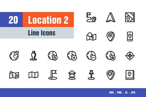 Location Icons #2