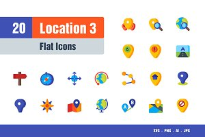 Location Icons #3