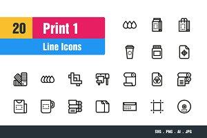 Print Icons #1