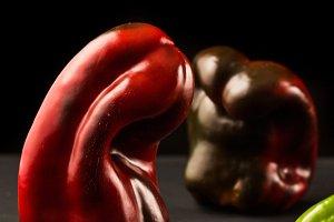 Fresh peppers