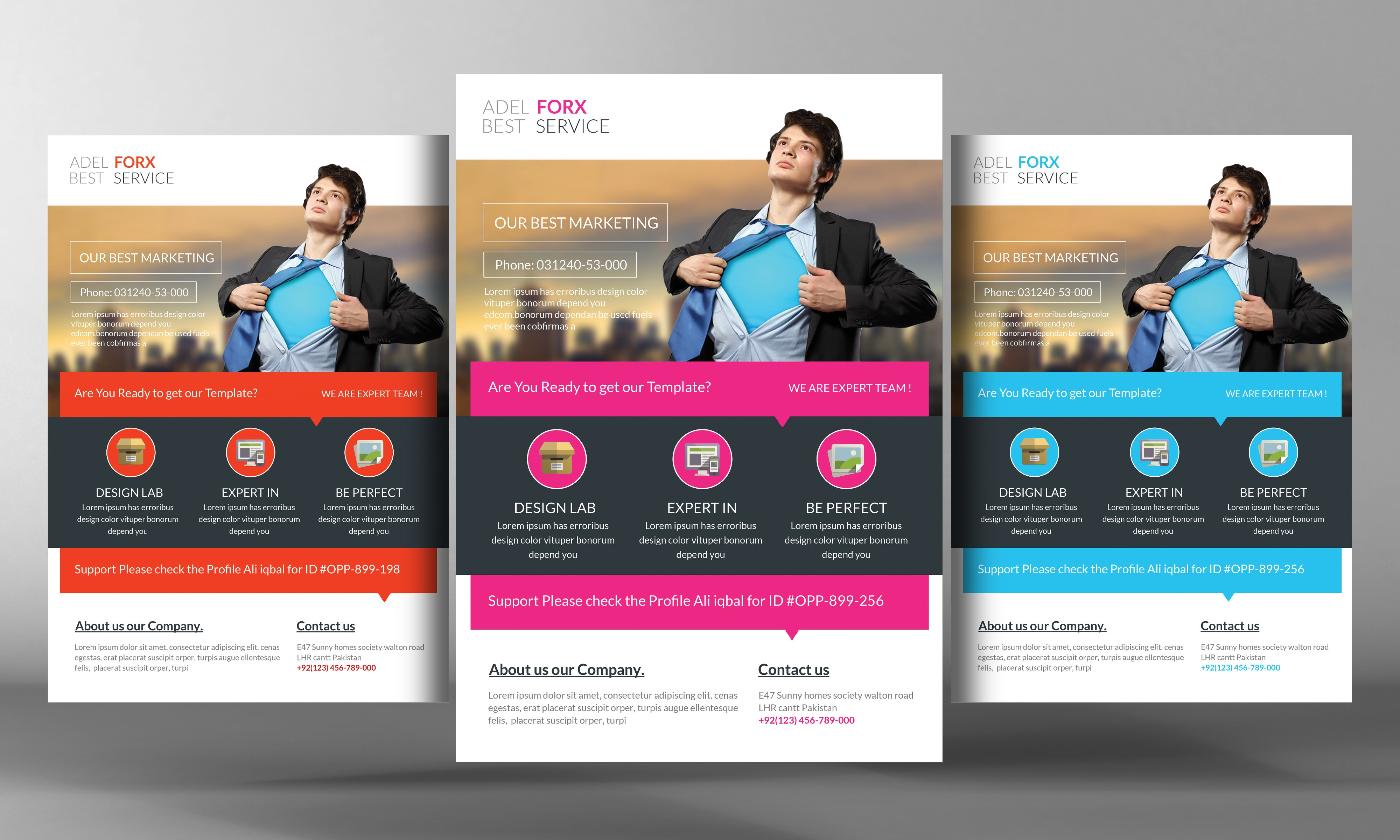 New Product Flyer Template Zrom