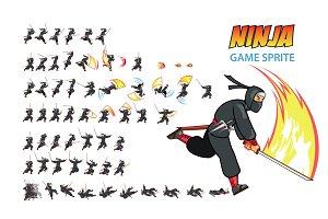 Ninja Game Sprite