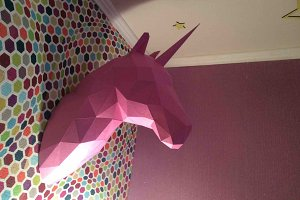 DIY Horse & Unicorn Head 3D model