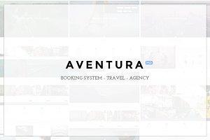 Aventura - Booking PSD Template