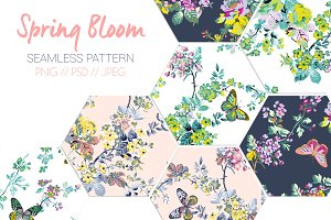Spring Bloom Print Pattern!