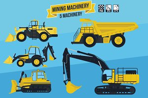 5 mining & construction machinery